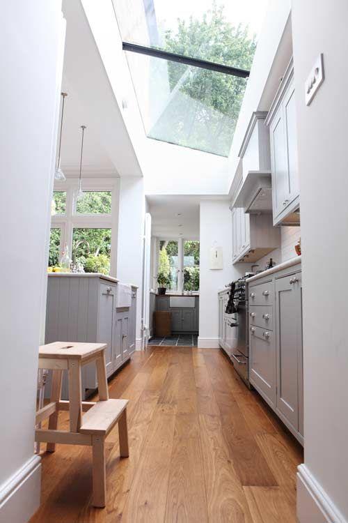 153033baoxaydung image004 Ý tưởng thiết kế giếng trời cho căn bếp sang trọng