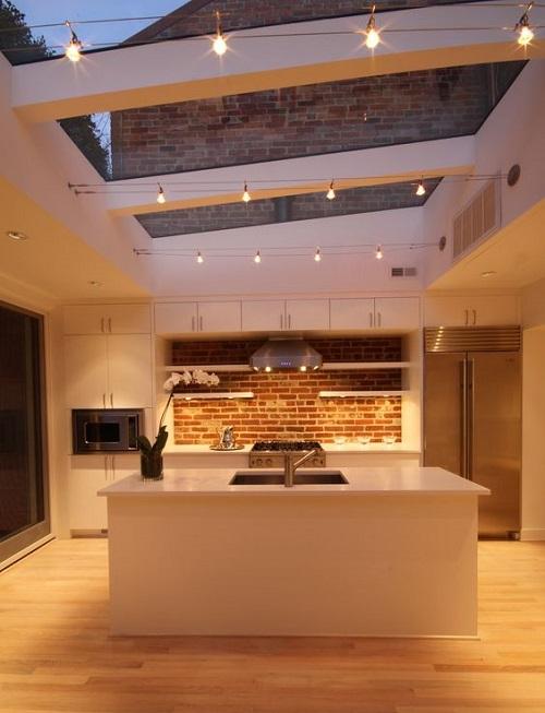 153033baoxaydung image006 Ý tưởng thiết kế giếng trời cho căn bếp sang trọng