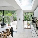Thiết kế giếng trời cho căn bếp sang trọng