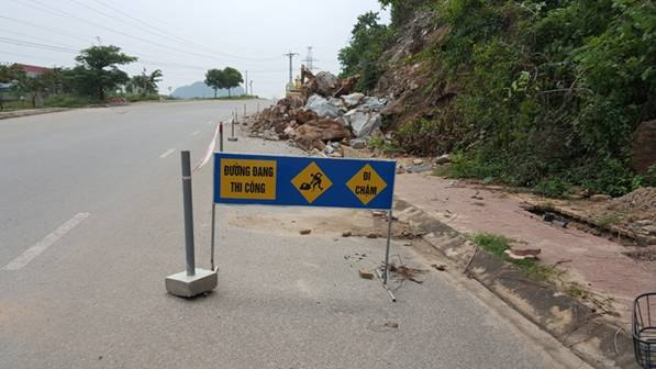 Quỳ Hợp, Nghệ An: Nổ mìn mở đường, bất chấp an toàn nhà dân
