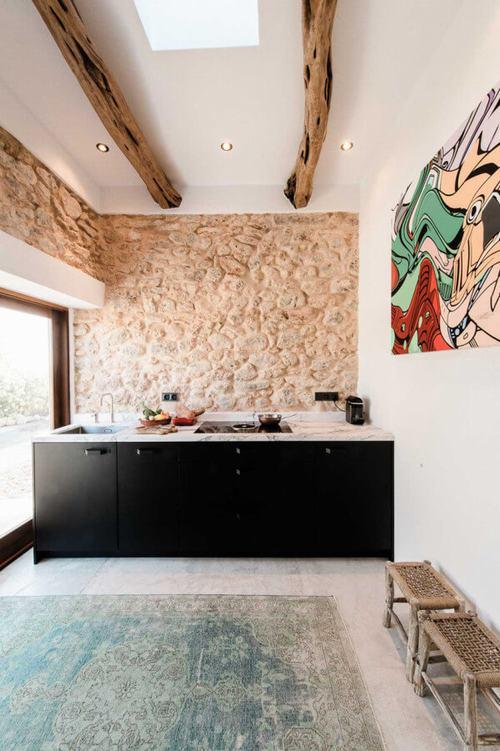 194007baoxaydung image005 Thiết kế và cải tạo ngôi nhà 200 tuổi trở thành nhà khách