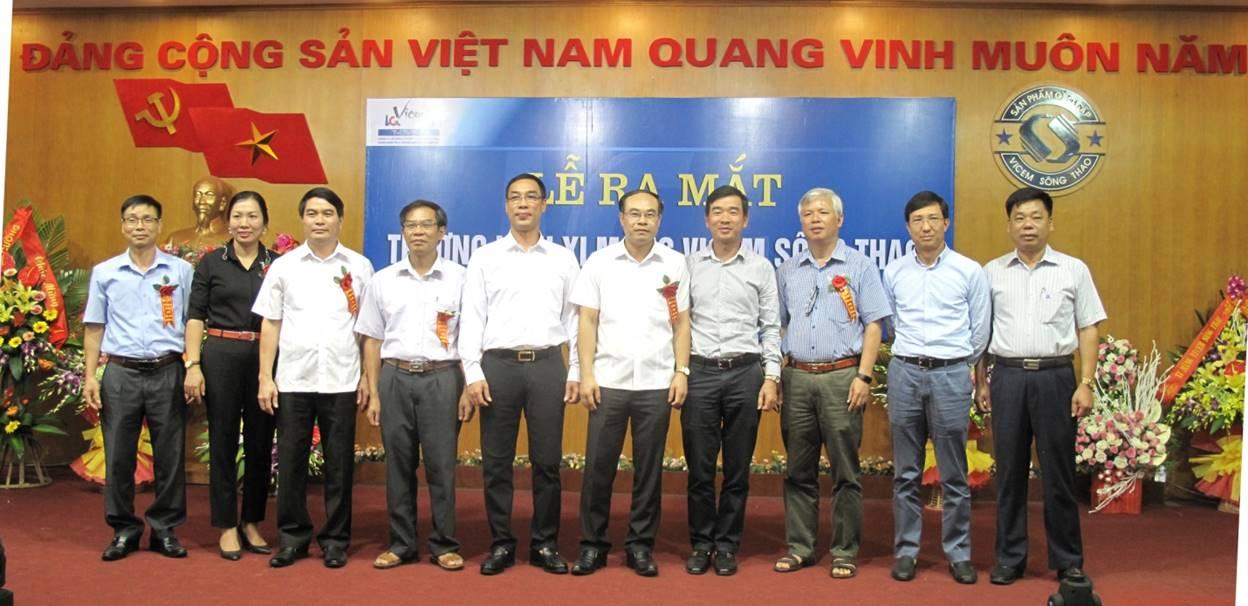 Ra mắt thương hiệu Xi măng VICEM Sông Thao