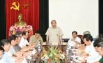 Hà Tĩnh: Thủ tướng Nguyễn Xuân Phúc kiểm tra và chỉ đạo khắc phục sau bão