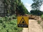 Thanh Hóa: Công trình Thành nhà Hồ bị sạt lở sau mưa