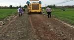 Ứng dụng công nghệ gia cố tái sinh nguội làm đường giao thông nông thôn