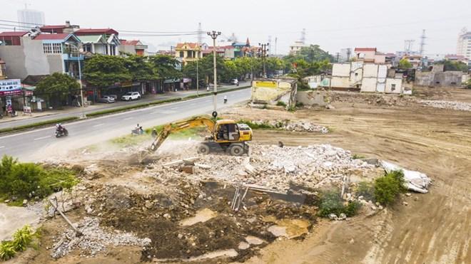 Vẫn còn hộ chưa bàn giao mặt bằng xây quảng trường Đinh Tiên Hoàng Đế