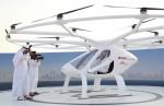 Taxi bay đầu tiên trên thế giới ở Dubai