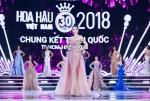 Những 'công chúa' trên sàn diễn đêm chung kết Hoa hậu Việt Nam 2018