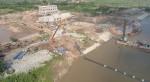Dự án nghìn tỷ hạ chìm đường ống qua sông thành công