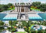 Phương án thiết kế kiến trúc công trình Đền thờ các Vua Hùng tại TP Cần Thơ