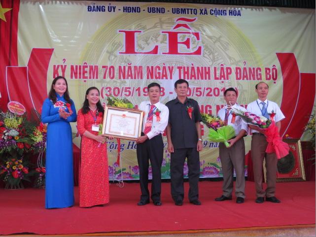 Xã cuối cùng của huyện Quốc Oai đạt chuẩn Nông thôn mới