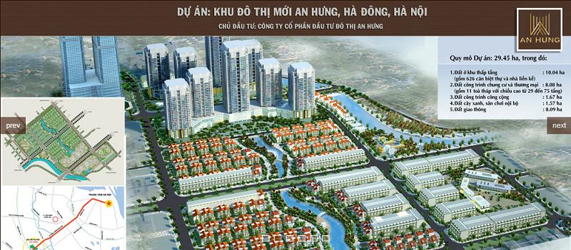 Điều chỉnh cục bộ quy hoạch chi tiết Khu đô thị mới An Hưng
