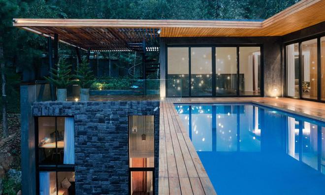 Căn biệt thự giữa đồi thông có bể bơi ngoài trời tuyệt đẹp ở Vĩnh Phúc
