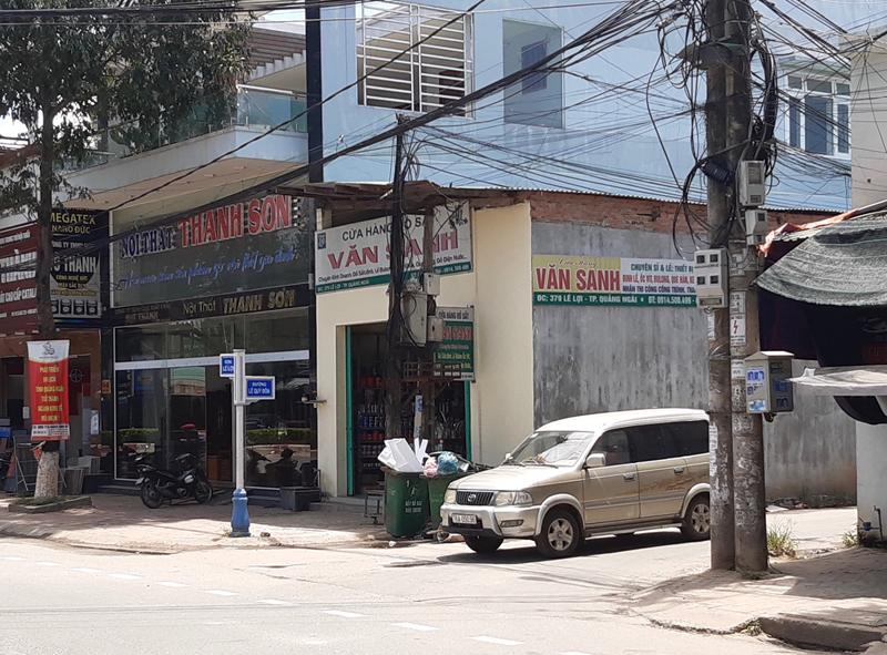 Sở Xây dựng tỉnh Quảng Ngãi thông tin việc điều chỉnh quy hoạch Khu dân cư phía đông đường Lê Quý Đôn