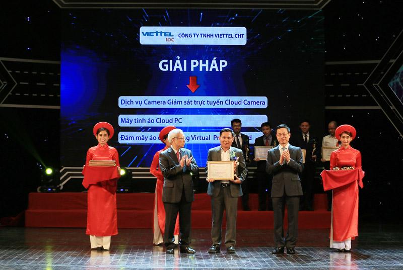 Viettel IDC: Nhà cung cấp dịch vụ điện toán đám mây duy nhất đạt giải thưởng Chuyển đổi số Việt Nam 2019
