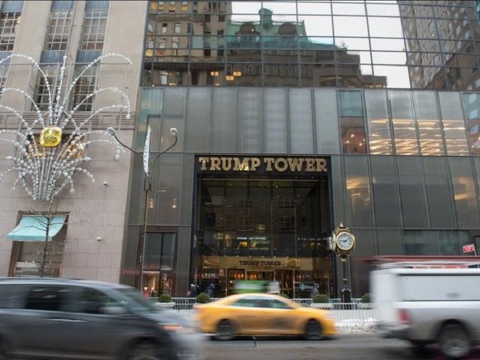 Khối bất động sản 122 triệu USD của Trump