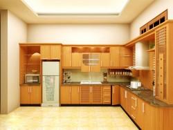 Cách vệ sinh và bảo quản tủ bếp gỗ tự nhiên