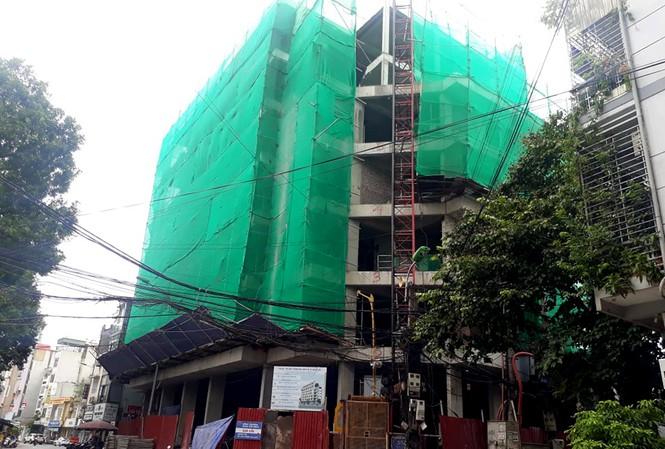 Hà Nội kiểm tra hoạt động Đội Thanh tra xây dựng