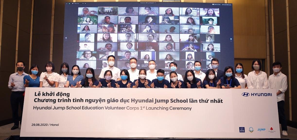 Tập đoàn Hyundai lần đầu tiên khởi động Chương trình tình nguyện giáo dục cho sinh viên tại Việt Nam