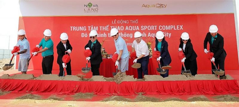 novaland khoi cong xay dung trung tam the thao da nang aqua sport complex