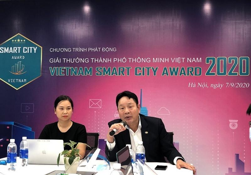 vinasa phat dong giai thuong thanh pho thong minh viet nam 2020