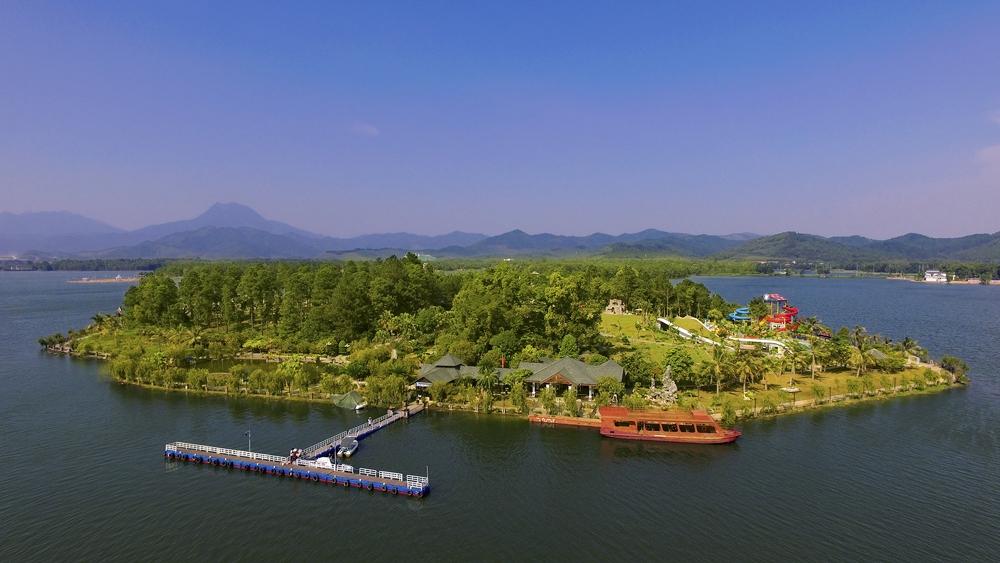 Cần làm rõ các cao trình của hồ Đại Lải để kết hợp việc xây dựng công trình phục vụ du lịch
