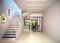 Cách thiết kế cầu thang cho nhà ống