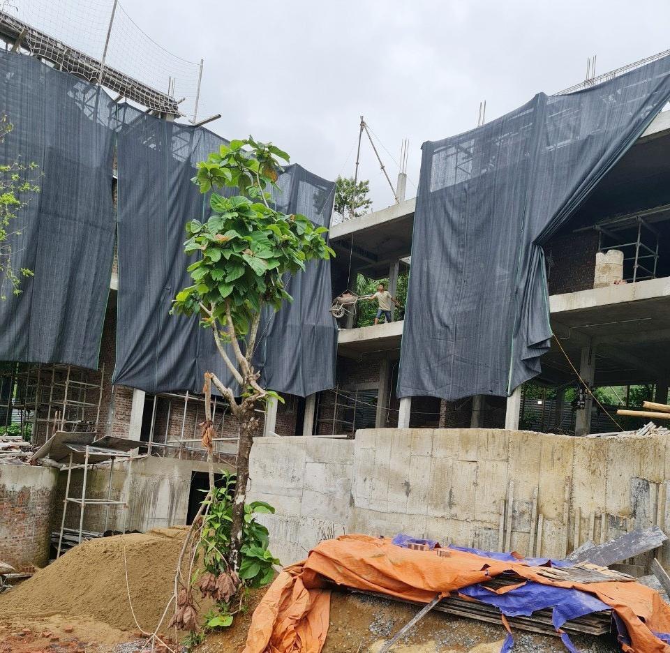 Bá Thước (Thanh Hóa): Công ty EBINO bị phạt 40 triệu đồng vì xây dựng không phép