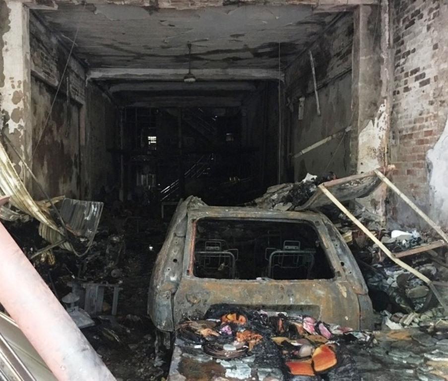 Thanh Hóa: Nhà bỗng nhiên bốc cháy lúc rạng sáng