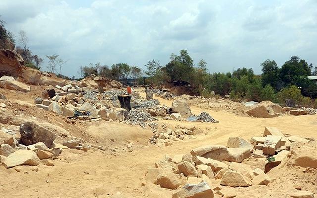 Bà Rịa – Vũng Tàu: Huyện Xuyên Mộc cương quyết xử lý mạnh nạn khai thác khoáng sản trái phép