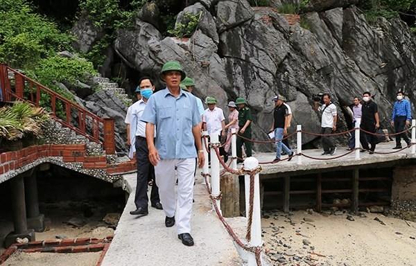 Hải Phòng: Kiểm tra vi phạm xây dựng tại Vườn quốc gia Cát Bà