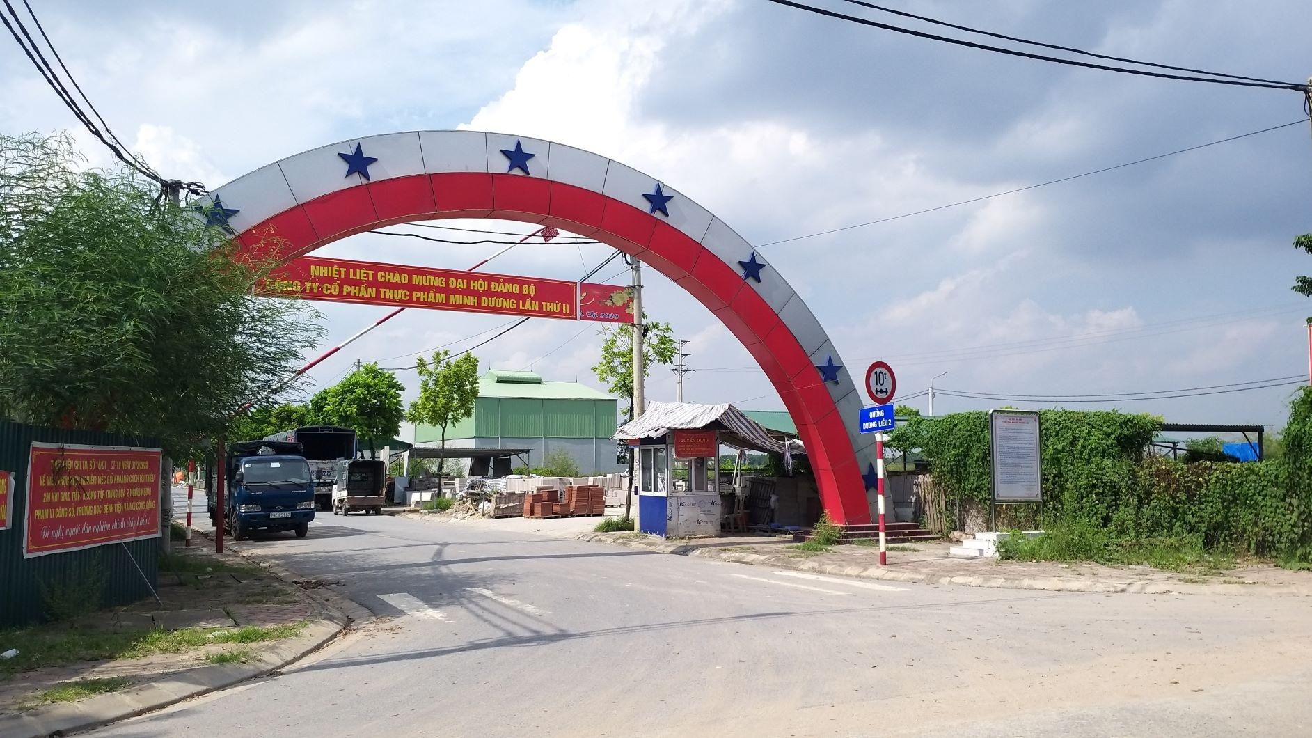 Hà Nội: Dự án Cụm công nghiệp làng nghề xã Dương Liễu thực hiện đúng quy định pháp luật