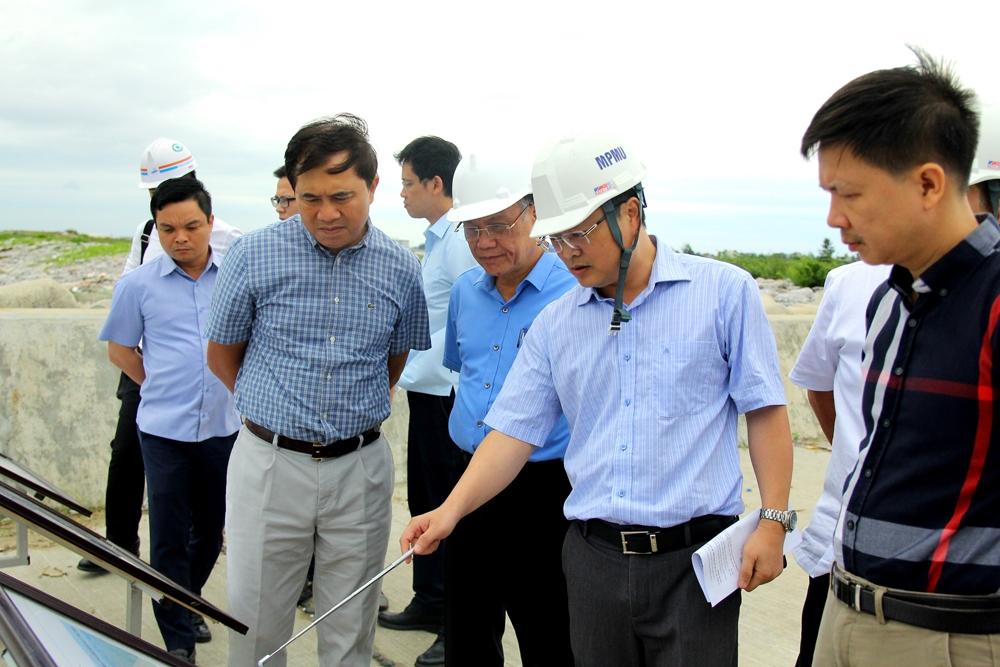 Chấp thuận nghiệm thu hoàn thành gói thầu số 10 Hợp phần A – Dự án đầu tư xây dựng Cảng cửa ngõ Quốc tế Hải Phòng