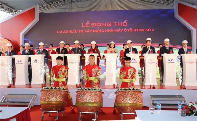 Ninh Bình: Khởi công xây dựng nhà máy Hyundai Thành Công số 2