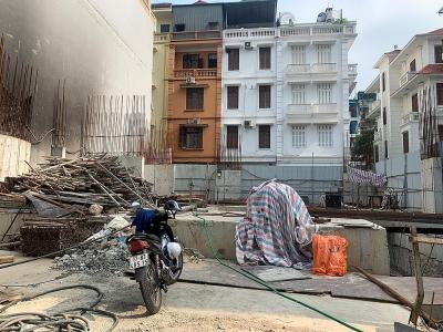 Thủ tướng Chính phủ yêu cầu kiểm tra công trình nhà ở riêng lẻ có 4 tầng hầm tại phố Sơn Tây