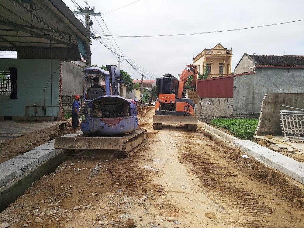 Hoằng Hóa (Thanh Hóa): Dự án làm đường dang dở được tái khởi động