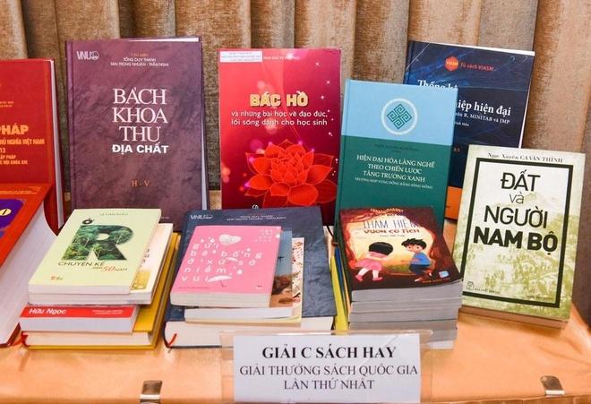 Lễ trao Giải thưởng Sách quốc gia lần thứ 3 sẽ diễn ra vào ngày 9/10