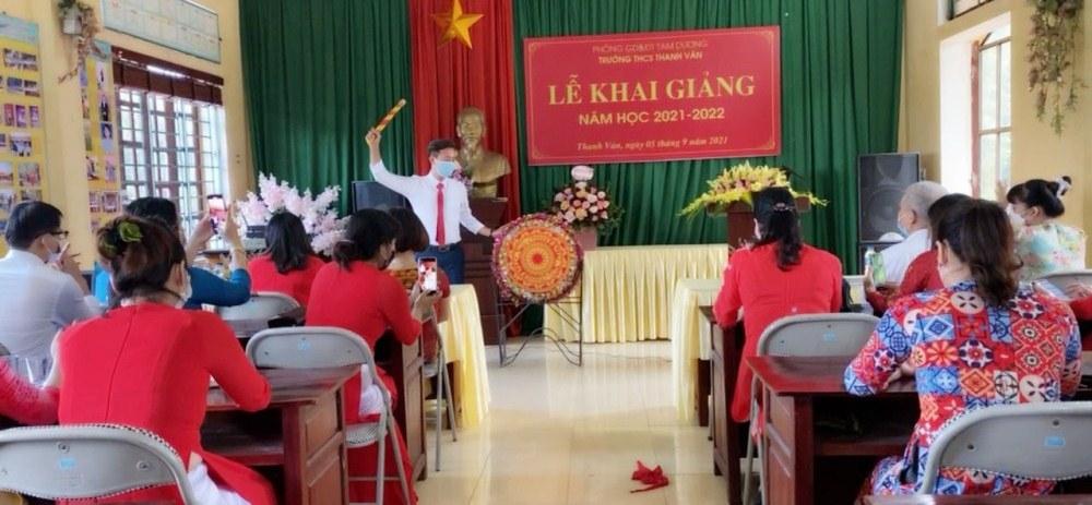 Vĩnh Phúc: Gần 370.000 học sinh khai giảng bằng hình thức trực tuyến