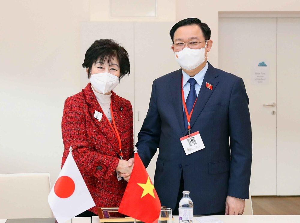 Quốc hội Nhật - Việt cam kết cùng hỗ trợ nhau vượt đại dịch