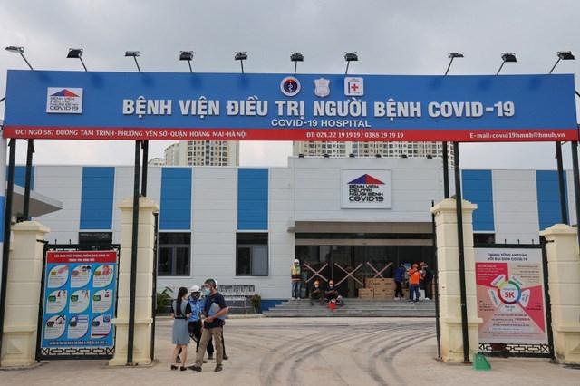 Viglacera tài trợ thiết bị vệ sinh và gạch ốp lát cho công trình Bệnh viện dã chiến điều trị Covid 19 tại Hà Nội