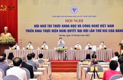 Thủ tướng Phạm Minh Chính dự Hội nghị đội ngũ trí thức khoa học và công nghệ triển khai Nghị quyết Đại hội XIII của Đảng