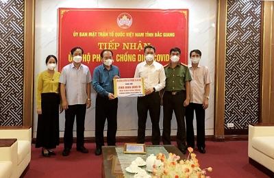 Hội đồng hương Hải Phòng tại Hà Nội: Tặng 200 máy tính cho học sinh nghèo Bắc Giang
