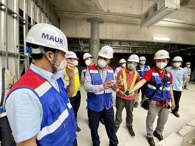 Tổ công tác đặc biệt của Bộ Xây dựng kiểm tra công tác phòng, chống dịch tại các dự án trọng điểm tại Thành phố Hồ Chí Minh