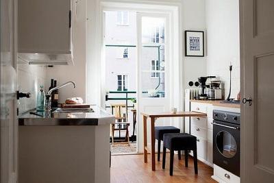 Giải pháp thông minh cho những căn nhà không có phòng ăn