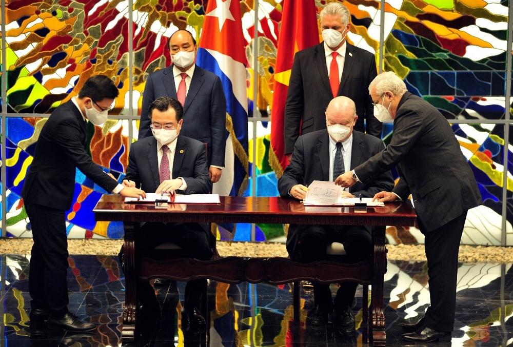 Thúc đẩy hợp tác toàn diện Việt Nam - Cuba