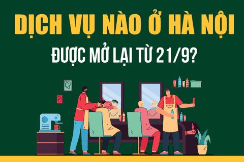 Chi tiết những ngành nghề, dịch vụ ở Hà Nội được hoạt động từ 21/9