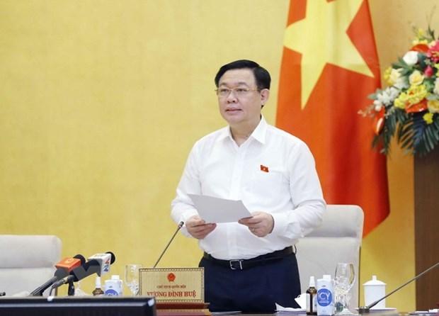 dieu chinh chuong trinh xay dung luat phap lenh nam 2021