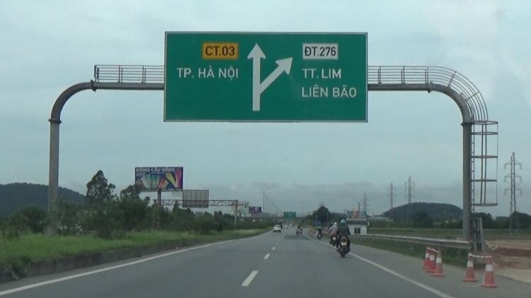 Đầu tư mở rộng một số cầu trên tuyến cao tốc Hà Nội-Bắc Giang