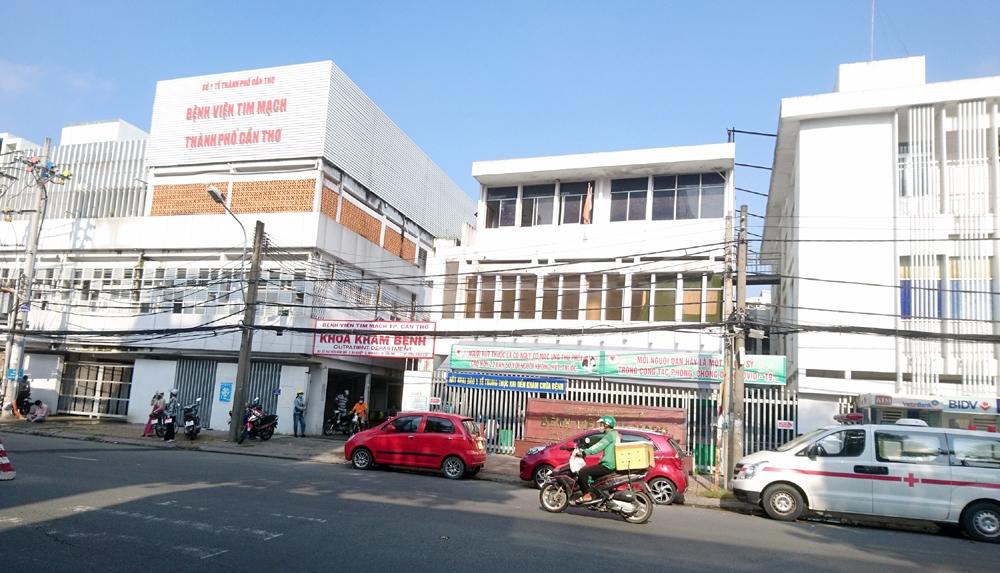 Chưa phong tỏa Bệnh viện Tim mạch thành phố Cần Thơ
