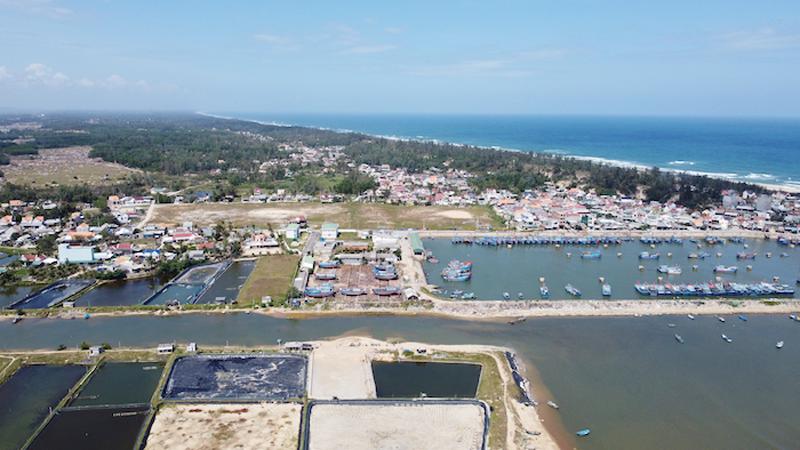 Quảng Ngãi: Đã thống nhất được phương án hướng dẫn thị xã Đức Phổ thực hiện dự án Khu dân cư Vùng 1, thôn Hải Tân